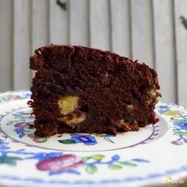 Рецепт Шоколадного торта с бананами